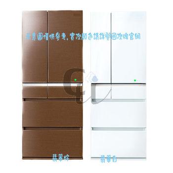 原廠禮★國際牌505公升ECO NAVI頂級變頻六門日本原裝冰箱NR-F511VG