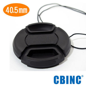 CBINC 40.5mm 夾扣式鏡頭蓋( 附繩 )
