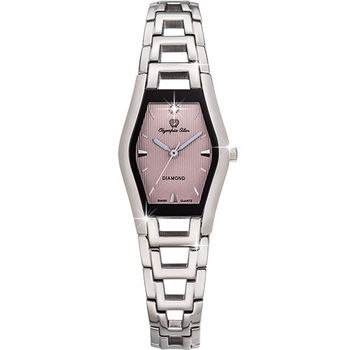 Olympia Star 奧林比亞之星-Jolie dame造型時尚腕錶(微粉藕)28020LS