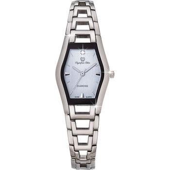 Olympia Star 奧林比亞之星-Jolie dame造型時尚腕錶(亮眼藍)28020LS