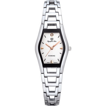Olympia Star 奧林比亞之星-Jolie dame造型時尚腕錶(名媛白)28020LS