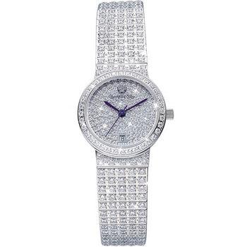 Olympia Star 奧林比亞之星-璀燦星光系列纖腕之星時尚晶鑽腕錶55952DLS