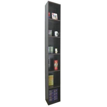 【頂堅】寬24公分-六層間隙書櫃/置物櫃/收納櫃(三色可選)-1入/組