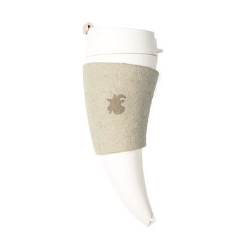 【GOAT STORY】Goat Mug 山羊角咖啡杯 12oz / 350ml - 亞麻