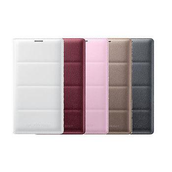 SAMSUNG GALAXY Note 4 原廠皮革翻頁式皮套