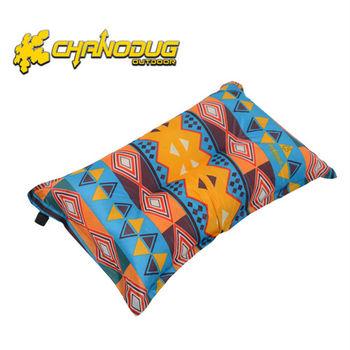 【CHANODUG】民族風自動充氣枕兩入組