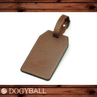 【Dogyball】行李隨箱吊牌 CruiseTag -城市智慧型配件時尚小物 棕色