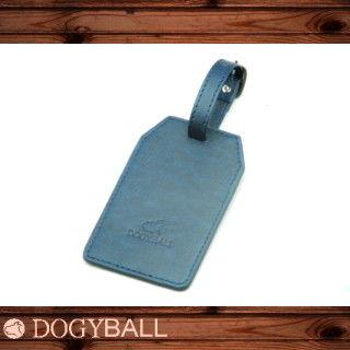 【Dogyball】行李隨箱吊牌 CruiseTag -城市智慧型配件時尚小物 藍色