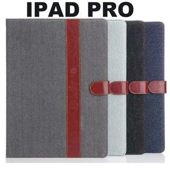 Apple iPad Pro 復古牛仔可立式皮套
