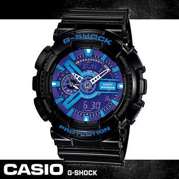 【CASIO 卡西歐 G-SHOCK 系列】限定款-重機裝置造型錶(GA-110HC)