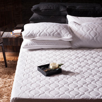 BBL特大100%棉.床包式保潔墊