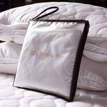 BBL枕頭100%棉.平面式保潔墊