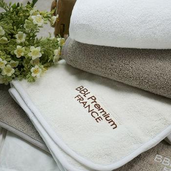 BBL 100%純棉舒適枕巾(象牙白)