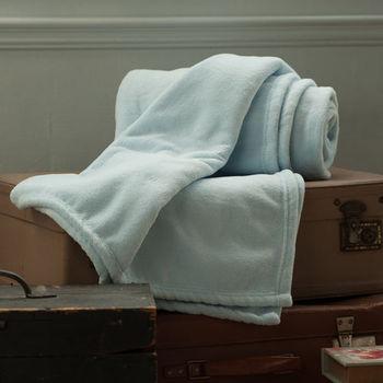 BBL 超纖柔多功能舒眠毯(愛麗絲藍)