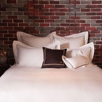 BBL序曲100%精梳棉.刺繡加大四件式床包組