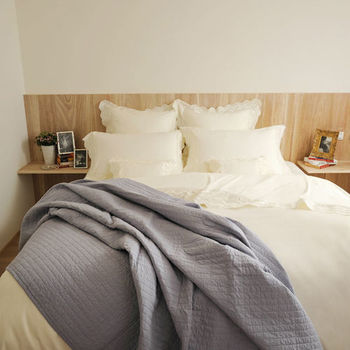 BBL曼波100%精梳棉.刺繡雙人四件式床包組