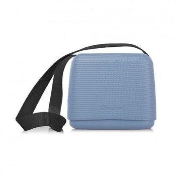 【O Bag】義大利品牌-O Pocket 帆布背帶組(黑) - 紙糖藍