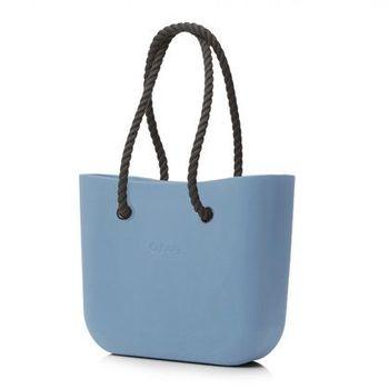 【O Bag】義大利品牌-時尚運動包 -紙糖藍