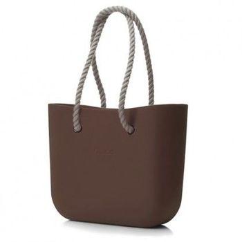 【O Bag】義大利品牌-時尚運動包 -巧克力