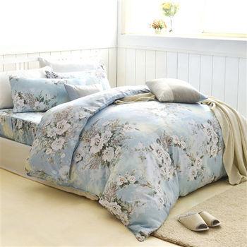 【美夢元素】白色戀人 天鵝絨雙人加大四件式 全鋪棉兩用被床包組