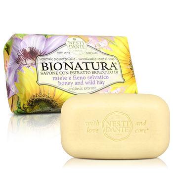 Nesti Dante  義大利手工皂-天然純植系列-純植蜂蜜乾草皂(250g)*2入