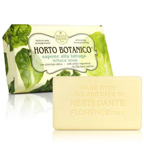 Nesti Dante  義大利手工皂-天然纖蔬系列-萵苣(250g)*2入