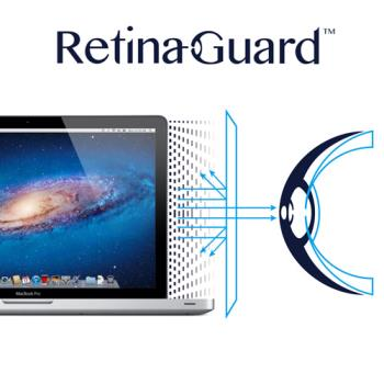 RetinaGuard 視網盾 Macbook Pro (2008~2012.06 版本) 15吋 防藍光保護膜