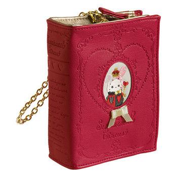 San-X 魔幻馬戲團紅心皇后系列書本造型手提包