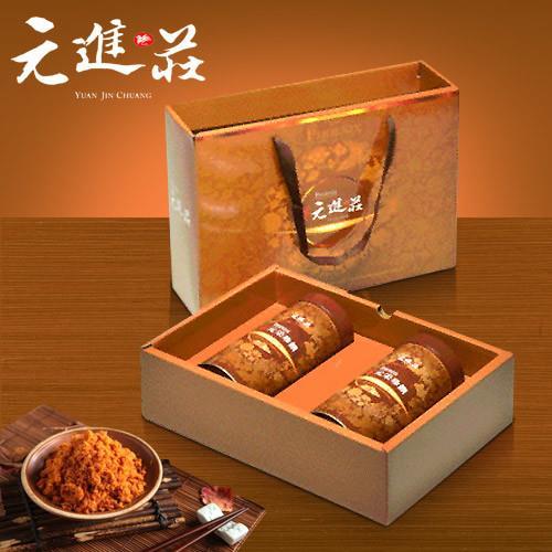 《元進莊》土雞肉鬆禮盒(200g*2/禮盒)