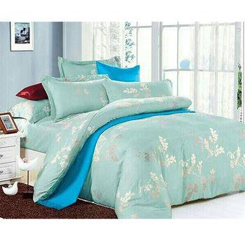 【韋恩寢具】柔絲絨被套床包組-雙人加大/飄絮