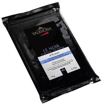 【VALRHONA】61%黑巧克力塊磚 1Kg 烘焙