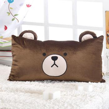 【莫菲思】捷居-湯姆熊專利立體耳朵造型中方枕