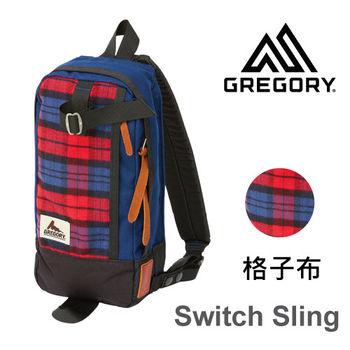 【美國Gregory】Switch Sling日系休閒斜肩包-格子布