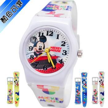 【Disney迪士尼】卡通錶(中) - 開心米奇