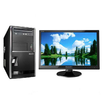 【Genuine捷元】GP888 G3260雙核 Win10Pro PC+GL221Q 21.5吋LCD 組