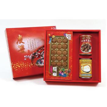 【迪化街天山行】年年有餘禮盒(干貝、螺肉、清湯智利鮑)