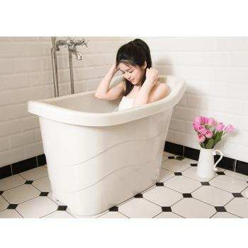 風呂健康 泡澡桶 大浴盆 泡湯桶-186L