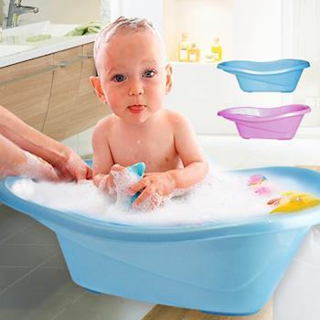 嬰兒浴盆 兒童泡澡桶防滑(買就送強力吸水浴巾)
