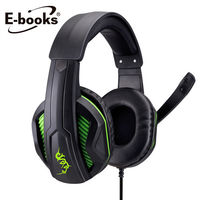 E ^#45 books S43 電競頭戴耳機麥克風