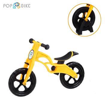 POPBIKE 兒童充氣輪胎滑步車-EVA發泡胎+置車架