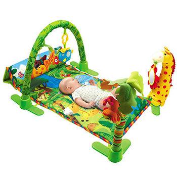 【Baby Safe】長方形動物遊戲健身器/遊戲毯