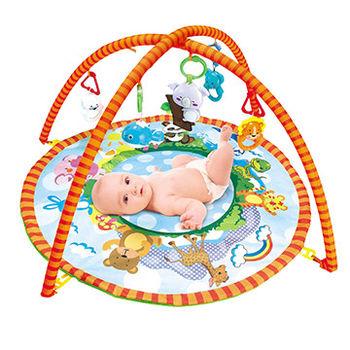 【Baby Safe】圓形動物遊戲健身器/遊戲毯