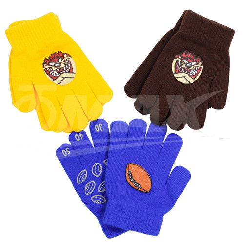 兒童多款式針織保暖手套-2雙