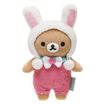 San-X 懶妹的草苺皇后系列毛絨公仔 懶熊