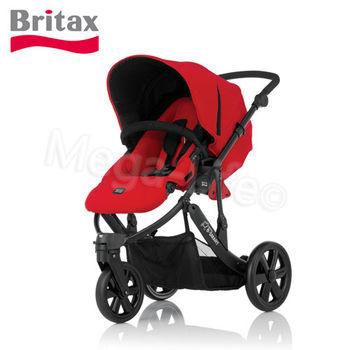 Britax-SMART三輪雙向手推車(紅)