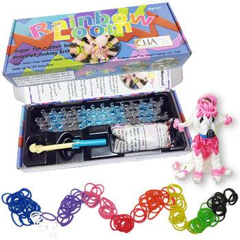 [BabyTiger虎兒寶]  Rainbow Loom彩虹編織器1+1包圈圈組合