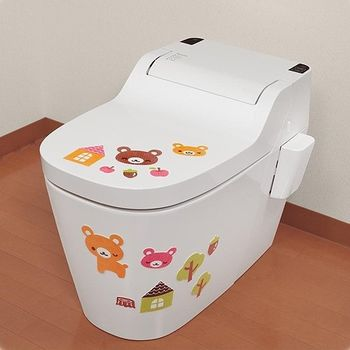 日本製造SANKO兒茶素馬桶消臭貼(小熊)