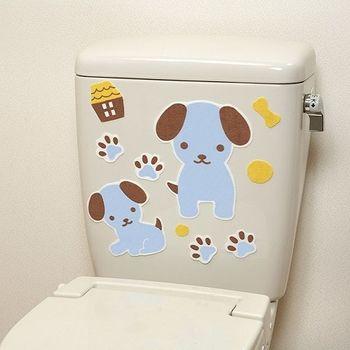 日本製造SANKO兒茶素馬桶消臭貼(小藍狗)
