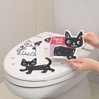 日本製造SANKO兒茶素馬桶消臭貼(小花貓)