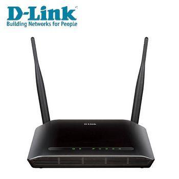 組合品-【D-LINK 友訊】DIR-612 Wireless N300 無線寬頻路由器 X2 台 + DWA-131-E USB無線網路卡 X 2個